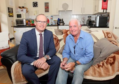 Respond Housing - Minister Coveney visit to Johns College -