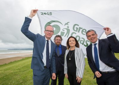 Blue Flag and Green Coast Awards Minister Coveney-4