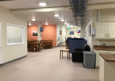 New homeless shelter at Ellis Quay opened recently