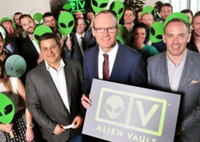 Alien Vault Launch